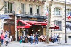 Champs-Elysees - Parijs stock foto's