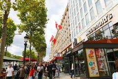 Champs-Elysees - Paris Photos stock