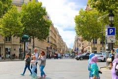 Champs-elysees - Paris Stock Image