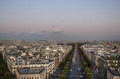 The Champs Elysees Royalty Free Stock Photos