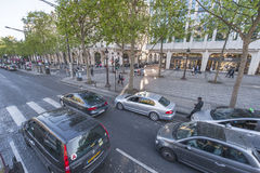 Champs Elysees Royalty Free Stock Photos