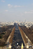 Champs Elysses Royalty Free Stock Image