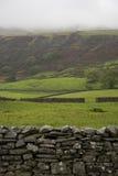Champs en vallées Yorkshire Angleterre de Yorkshire Photographie stock libre de droits