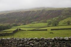 Champs en vallées Yorkshire Angleterre de Yorkshire Image libre de droits