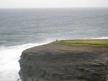 Champs et Cliff Top Walks verts près de Kilkee, Irlande images stock