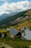 Champsaur valley. Village in the Ecrins National Park (Alp Royalty Free Stock Images