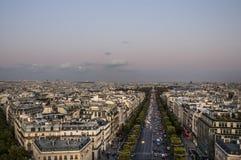 Champset-Elysees Royaltyfria Foton