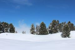 Chamrousse. Winter Landscape france Royalty Free Stock Photo