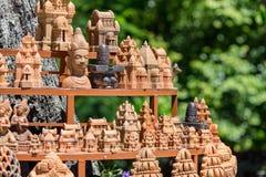 Chamtorens van po Nagar Beroemd paleis in Nhatrang, Vietnam Stock Afbeeldingen