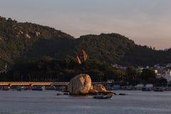 Chamtorens van po Nagar Beroemd paleis in Nhatrang, Vietnam Royalty-vrije Stock Foto's