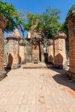 Chamtorens van po Nagar Beroemd paleis in Nhatrang, Vietnam Stock Afbeelding