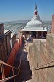 Chamunda Devi Temple. Mehrangarh Fort. Jodhpur. Rajasthan. India Stock Photos