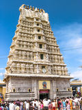 Chamundeshwari Temple on Chamundi Hills Stock Images
