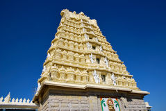 The Chamundeshwari temple in India Royalty Free Stock Image