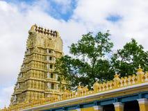 Chamundi Devi świątynia zdjęcie royalty free