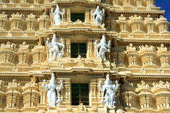 Chamundi Temple Architecture Stock Photography