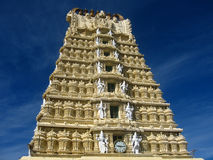 Chamundi Temple Architecture-I Royalty Free Stock Images