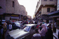 Chan al Chalili Basar, Kair Obrazy Stock