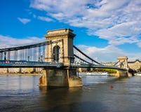 Chan Bridge em Budapest Foto de Stock