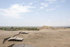 Chan Chan Archeological Site in Trujillo - Salaverry Peru stock photos