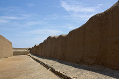 Chan Chan Ruins Peru Royaltyfri Foto