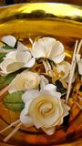 Chan flowers for cremation ceremony in Thailand Royalty Free Stock Photography