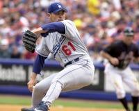 Chan Ho Park, Los Angeles Dodgers photo stock