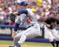 Chan Ho Park, Los Angeles Dodgers stock photo