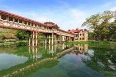 chan sanam thailand för nakhonslottpathom Arkivfoto