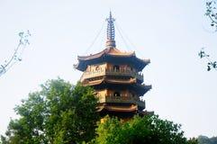 Chan Yuan Temple Pagoda China Royalty Free Stock Image