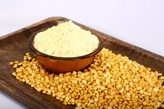 Chana Daal με Besan, ινδικά τρόφιμα στοκ εικόνα