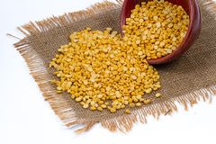 Chana dal royalty free stock images