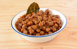 Chana masala Stock Photo