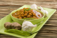 Chana Masala Royalty Free Stock Photography