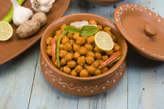 Chana Masala Stock Photos
