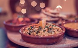 Chana Rice made with chickpeas stock photos