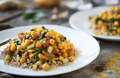Chana Saag Royalty Free Stock Photo