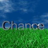 chance логос Стоковые Фотографии RF