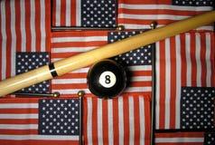 Chance américaine Images libres de droits