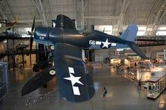 Chance el corsario/el aire y el museo espacial de Vought F4U Imágenes de archivo libres de regalías