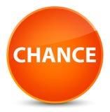 Chance elegant orange round button. Chance isolated on elegant orange round button abstract illustration royalty free illustration