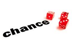 Chance financière Photo libre de droits