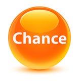 Chance glassy orange round button. Chance isolated on glassy orange round button abstract illustration royalty free illustration