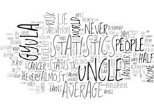 A Chance That Statistics Never Lie Word Cloud Royalty Free Stock Images
