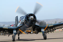 Chance Vought F4U-4 Corsair Stock Photos