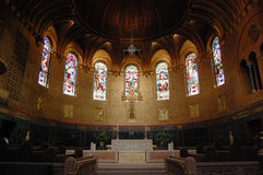 Chancel of Boston Trinity Church Stock Image