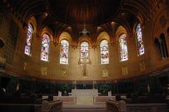 Chancel da igreja da trindade de Boston Imagem de Stock