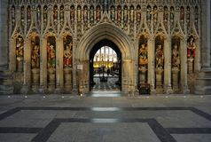 Chancel entrance, Ripon Cathedral Stock Images