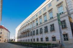 Chancelaria federal em Viena, Áustria Fotografia de Stock Royalty Free