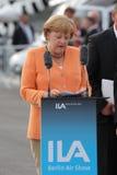 Chanceler alemão Angela Merkel foto de stock
